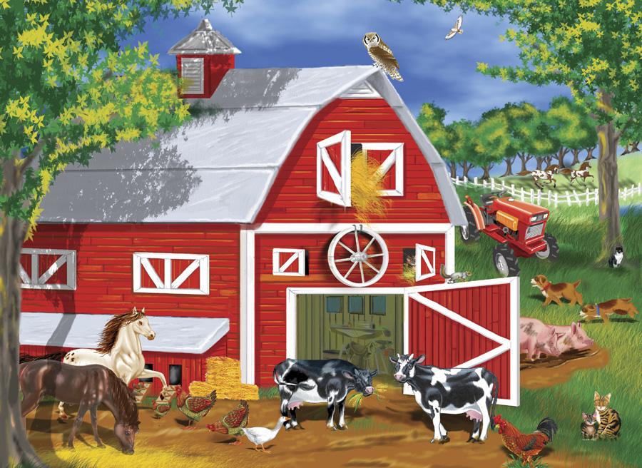 Famous Farm Barn Clip Art
