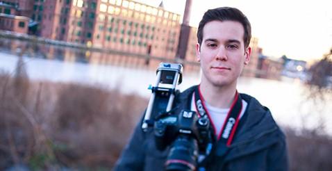 Filmmaker, and Westfield State Alumni, James Deveny