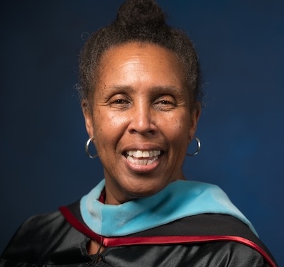 Joan Fuller, Director of the Urban Education program at Westfield State University, July 2014
