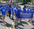 Westfield State marching in Westfield 350 parade