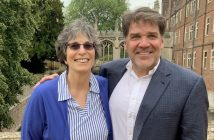 David and Ricki in Cambridge in May 2019