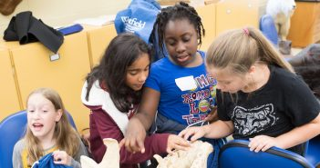Westfield State University hosts students from Westfield elementary schools to promote interest in Science, technology, Engineering & Mathematics.