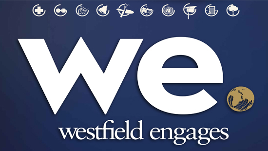 Westfield Engages logo