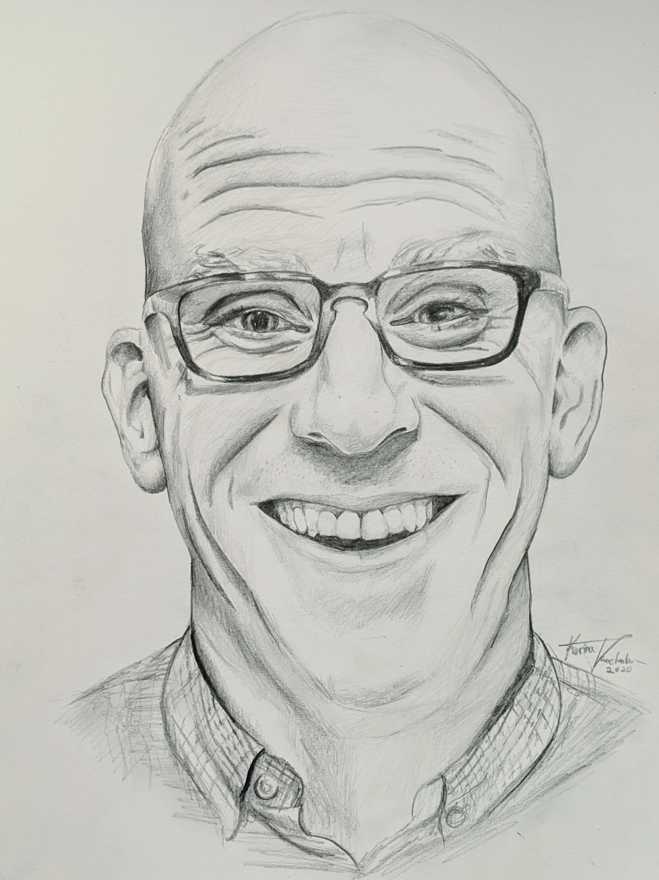 Drawing of David Shapleigh