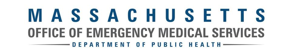 Mass Office of Emergency Medical Services DPH Logo