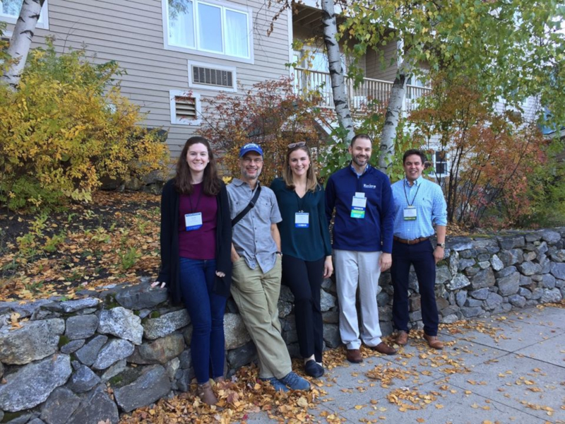 Alumns at the Fall NEARC 2019