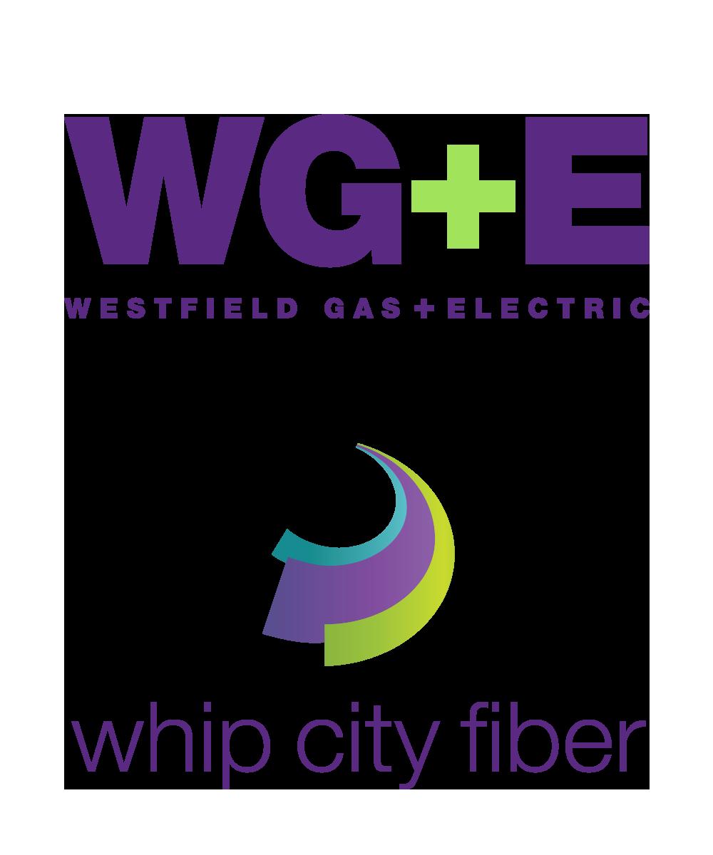 Westfield G+E Logo & whip city fiber